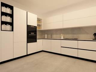 Cocina calle Casp (Barcelona) Cocinas de estilo moderno de Temas cuines Moderno