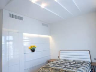 "Квартира в ЖК ""Фаворит"" Спальня в стиле минимализм от background архитектурная студия Минимализм"