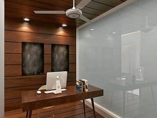 Residence in Mianwali, New Delhi: modern  by Farben Corner,Modern