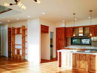 Cozinhas modernas por (주)걸리버하우스