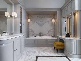 Bespoke design from the Bath Couture service: classic Bathroom by Devon&Devon UK