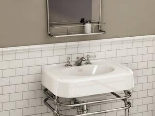 Single Memphis Console | Boogie Mirror: classic Bathroom by Devon&Devon UK