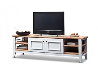 Modern wood furniture:   by Sena Home Furniture