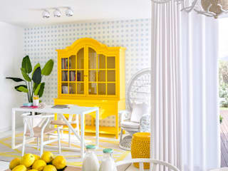 Salones de estilo moderno de Prego Sem Estopa by Ana Cordeiro