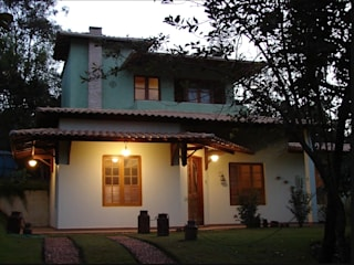 Casas de estilo rústico de Arquiteta Ana Paula Paiva Rústico