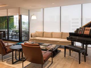 Livings de estilo clásico de ARCO Arquitectura Contemporánea Clásico