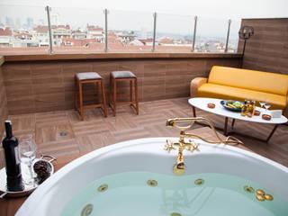 Terrazas de estilo  por 50GR Mimarlık, Moderno