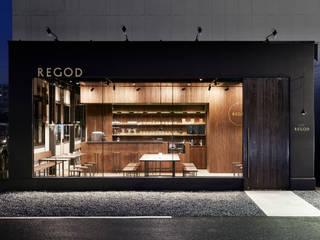 CAFE REGOD: Innovation Studio Okayamaが手掛けたレストランです。