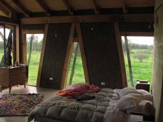 : Dormitorios de estilo moderno por Estudio Terra Arquitectura & Patrimonio