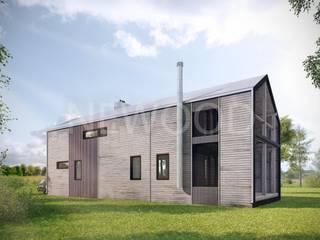 NEWOOD - Современные деревянные дома Case eclettiche Legno Effetto legno