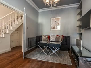 5 Bedroom Victorian House - South East London od Millennium Interior Designers Nowoczesny