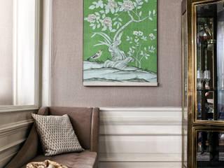 Projekty,  Salon zaprojektowane przez Ethnic Chic Home Couture