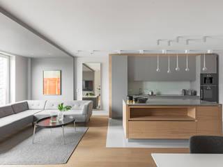Finchstudio 现代客厅設計點子、靈感 & 圖片