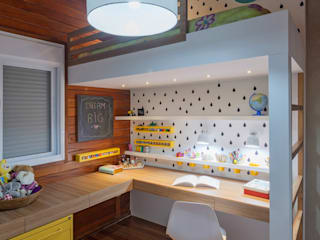 Nursery/kid's room by Carmen Calixto Arquitetura
