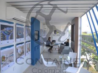 Salas de venta : Salas de estilo  por E-Containers Colombia