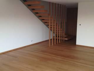 Habitação unifamiliar Salas de estar minimalistas por face lda Minimalista