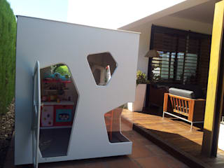 A patio in Sevilla:  de estilo  de SmartPlayhouse
