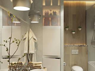 Интерьер Смесь неоклассики и прованса: Ванные комнаты в . Автор – Дарья Баранович Дизайн Интерьера