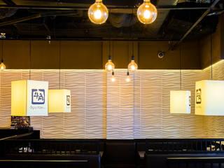 3D Wall Panels in Gyu Kaku Restaurant Vietnam!: modern  by WallArt 3D Wall Decor, Modern
