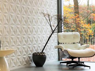 WallArt 3D Wall Decor Panels in Livingroom The Netherlands:   by WallArt 3D Wall Decor