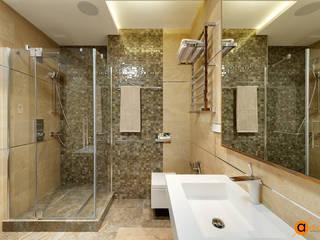 Атмосферный минимализм: Ванные комнаты в . Автор – Art-i-Chok
