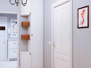 Couloir et hall d'entrée de style  par Marina Sarkisyan, Scandinave