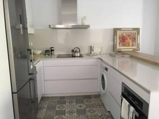 Nueva cocina instalada en Chamartín (Madrid). de Estudio de Cocinas Carmen Bejarano Madrid Minimalista