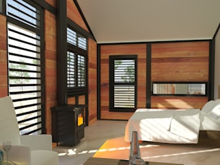 Modern style bedroom by Edge Design Studio Architects Modern