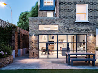 Slot House, London W12 Modern houses by AU Architects Modern