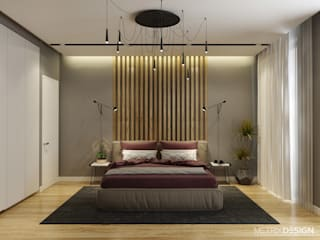 Minimalist bedroom by metrixdesign Minimalist