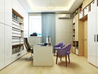 Orlova-design 書房/辦公室