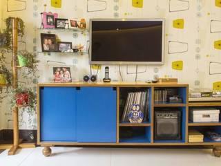 Move Móvel Criação de Mobiliário SalonMeubles télévision & multimédia MDF Bleu