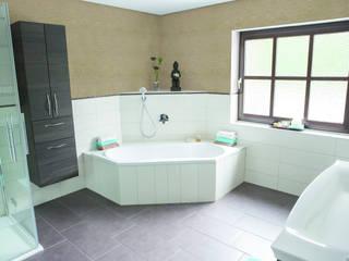 Dekorativer Kalkputz für Travertin-Kalksteinoptik Paul Jaeger GmbH & Co. KG Klassische Badezimmer