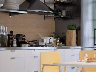 Dekorativer Kalkputz für Travertin-Kalksteinoptik Paul Jaeger GmbH & Co. KG Moderne Küchen