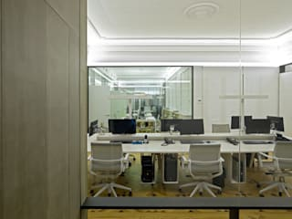 Office buildings by ÁBATON Arquitectura