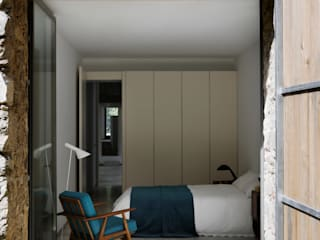 Bedroom by ÁBATON Arquitectura,