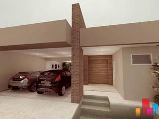 Casas modernas: Ideas, diseños y decoración de Renan Carvalho Arquitetura e Interiores Moderno Ladrillos