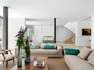 Living room by ÁBATON Arquitectura,