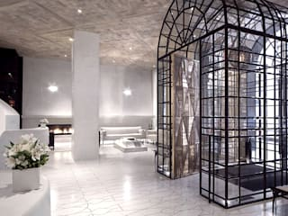 Entry - Lobby Marmara Park Avenue Hotel:  Hotels by Joe Ginsberg