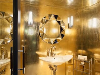 Bathrooms - Lobby Marmara Park Avenue Hotel:  Hotels by Joe Ginsberg