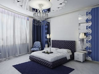 Bedroom by Архитектурное Бюро 'Капитель', Eclectic