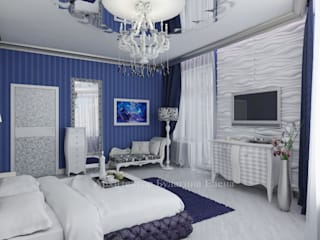 Kamar Tidur oleh Архитектурное Бюро 'Капитель', Eklektik