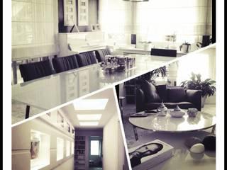 ML MIMARLIK VE DEKORASYON – Ev İç Mimari: modern tarz Yemek Odası
