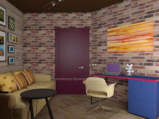 Study/office by Архитектурное Бюро 'Капитель', Eclectic