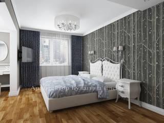Kamar Tidur oleh Архитектурное Бюро 'Капитель', Modern