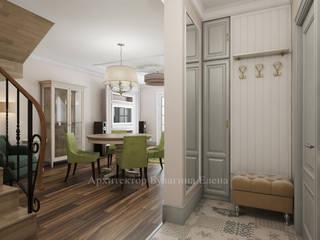 Ruang Keluarga oleh Архитектурное Бюро 'Капитель', Modern