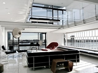 Joe Ginsberg Design Modern living room