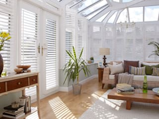 Conservatory Shutters : modern Conservatory by Thomas Sanderson