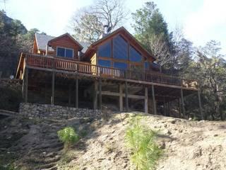 Cabaña Elite I: Casas de estilo  por nuk arquitech