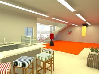Projeto L|G Espaços comerciais industriais por Office Duo Arquitetura e Interiores Industrial